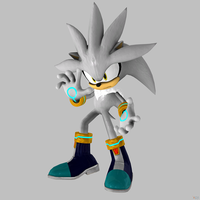 Silver the Hedgehog by Sticklove