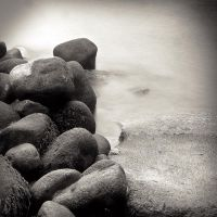 Rocks Down To The Ocean by davidsevern