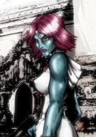 Mystique - Colour by channandeller