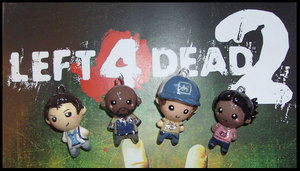 Chibi-Charms: Left 4 Dead 2 by MandyPandaa