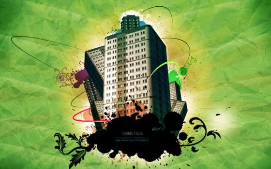 Buildings wallpaper by ayeb