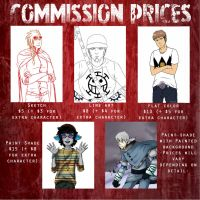 Commission Prices by AquariusArmageddon