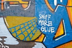 Sniff more glue by Egg-Salad
