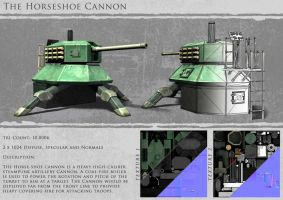 The Horseshoe Cannon - In-game by Tafari-Studios