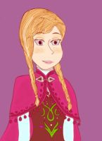 Anna's portrait by PriPePoi