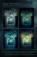 Dark Window Premade Pack by artori-stock