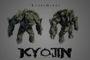 Stone Giant - KyoJin by eXecutex
