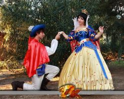 Snow White and Prince by FrancescaMisa