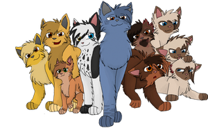 The Free Cats by CascadingSerenity