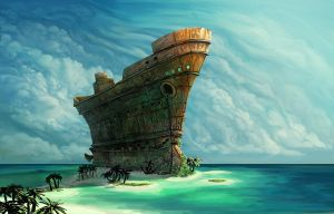 shipwrecked inc. by ShaggyHandlz