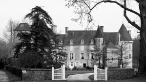 Chateau near Collieres by UdoChristmann