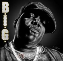 Biggie Smalls... Art Work by arihoff