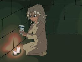 Little Marik- Candlelight by MoonlitSoulWolf
