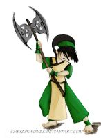 Toph The Wielder of Metals :D by cursedgnomes