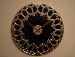 Gothic Design Clock by savageworlds