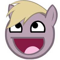 Derpy Awesomeface animated gif by MoongazePonies