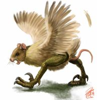 Mousichickoraptor by Crowsrock