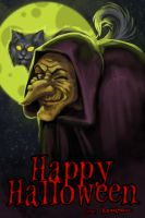 Happy Halloween by kerighan