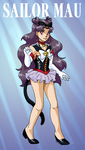Kitty Soldier Sailor Mau by ErinPtah
