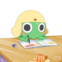 Keroro Gunsou_bored.. by pianno-ribbon