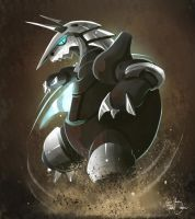Aggron Steel Tail by RhythmAx