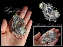 Hyelletancil brooch by Faeriedivine