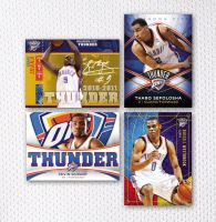 Oklahoma City Thunder Cards by BHoss1313