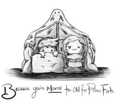 Pillow Forts by mnightthepet