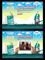 vivident extra micro site by feartox