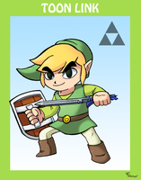 Smash Bros Toon Link by SonicKnight007