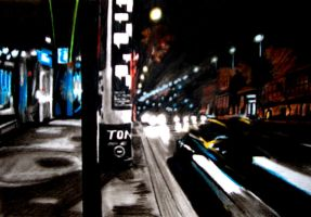 Night on the streets by tomhegedus