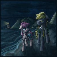Commission] Plights by Moonlight by Amura-Of-Jupiter