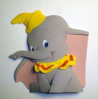 Dumbo by paperfetish