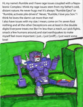 Decepticon Therapy- Rumble by Fire-Redhead