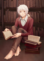 Read with me? by Naito--kun