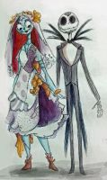 Dillydally Jack and Sally by thedodobirdsong