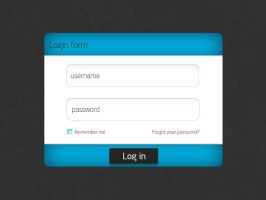Login form by TyupinKirill