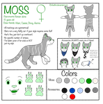Moss Reference Sheet (2014) by Chedtim