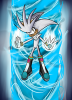 OHS - Silver the Hedgehog by tiger200188