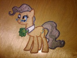 Mayor Mare Embroidery by EthePony