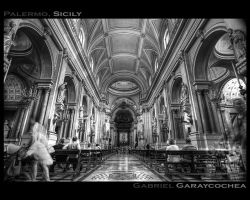 Palermo Cathedral HDR by GabOrcinus