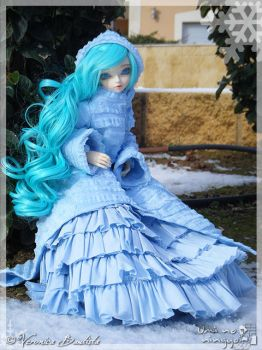 Winter Walk 8 by Dynamene-Dolls