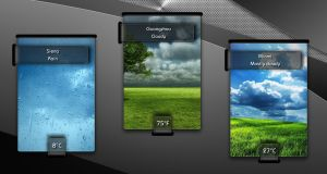 Boss Weather 2 for xwidget by jimking