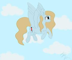 Kelly with Wings by kkp101