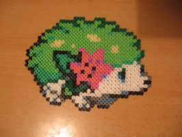 Shaymin Land form Bead by sazmullium