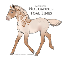 A2228 - Nordanner foal design by earthbae