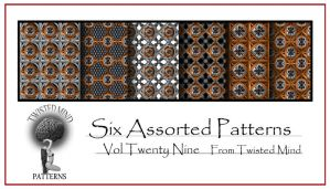 Twisted Mind Assorted Pattern Set 29 by Textures-and-More
