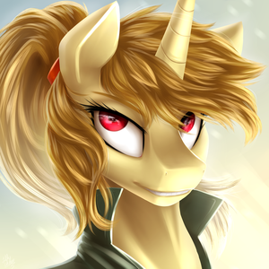 [Contest Prize] resilience horse by LillyCheese