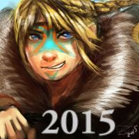 Astrid (also Happy 2015) by Bluemisti
