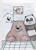 We bare bears by napo1